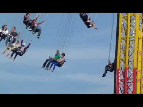 Travelling Star Flyer Ride 40m - South Bank London HD 1080p