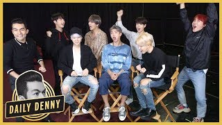 BTS Answers YOUR Fan Questions! Plus Smosh's Ian Hecox Plays 'You Posted That' With ET | Daily Denny