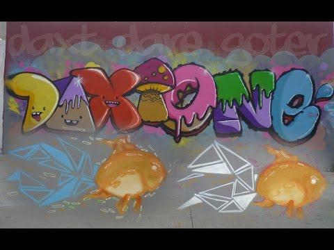 DAXT X DARE Ciudad Guzman Graffiti