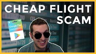 Crazy Cheap Flight Scam
