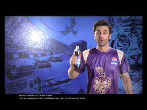 Pepsi IPL - Rajasthan Royals Kabhi. Kolkata K...