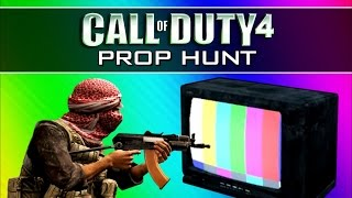 Call of Duty 4: Prop Hunt Funny Moments 2 - Operation Bigfoot, Mannequins, Claymore Win (CoD4 Mod)
