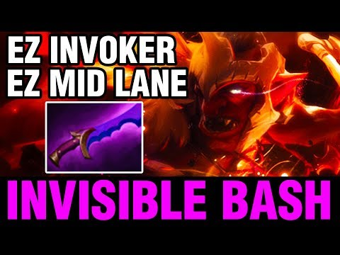 INVISIBLE BASH - Sccc Plays Troll Warlord - Dota 2