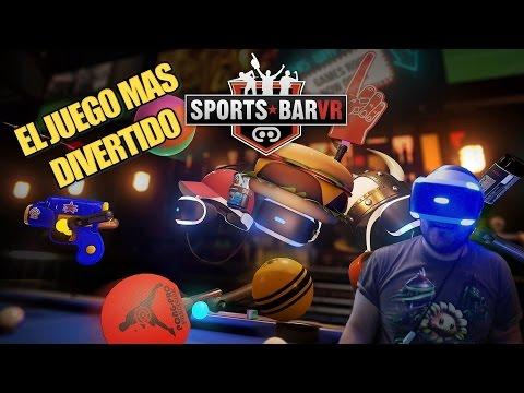 EL JUEGO MAS DIVERTIDO - Sports Bar VR | Playstation VR