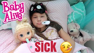 BABY ALIVE Tiffany And Jaycee Are Sick