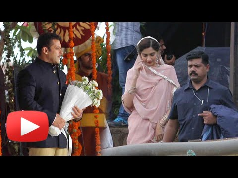 Leaked!! Salman Khan And Sonam Kapoor's Images From Prem Ratan Dhan Payo