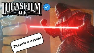 LUCASFILM SUPPORTS MY VADER FAN FILM!! BUT... - Star Wars Theory Fan Film