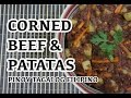 Paano magluto Pinoy Corned Beef & Patatas Recipe - Filipino Tagalog - Hash
