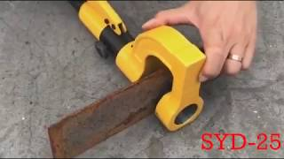 Stainless Steel Hole Punch Tool Hydraulic Punch Driver SYD-25 Hydraulic Hole Making Tool