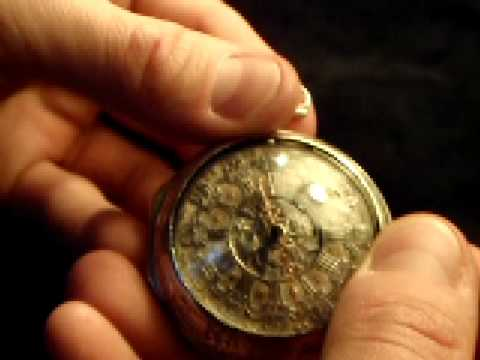 300+ year old English pocket-watch working!