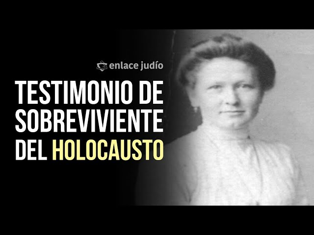 Enlace Judio - Entrevista con Helen Kraus - Interview with Helen Kraus, survivor of the Holocaust