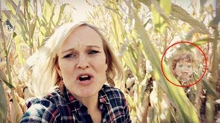 LOST in a CORN MAZE! DEFEATING THE DOLLMAKER