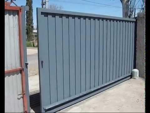 Portones sistemas mendoza argentina youtube - Como pintar puertas de sapeli ...