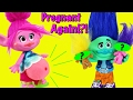 TROLLS POPPY PREGNANT AGAIN Trolls Movie Parody After Wedding Baby Birth Dream Needs Doctor mp3