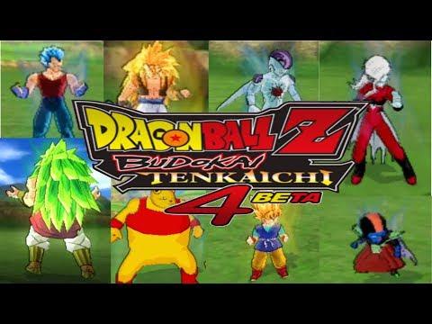 Dragon ball Budokai tenkaichi 4 todos los personajes ocultos (34 pj)