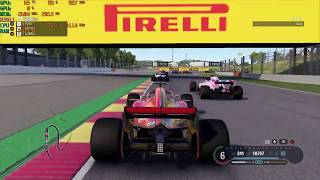 F1 2018 with the Nvidia 940MX at 720p  - Acer Aspire E 15