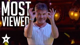 MOST VIEWED Performances on Britain's Got Talent 2018 | Got Talent Global