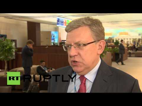 Russia: Economic growth 'difficult' with sanctions in place - Alexei Kudrin