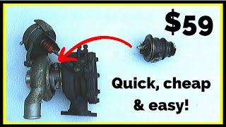 How to Rebuild a Turbo (Cheap, Quick & Easy Turbocharger Repair)