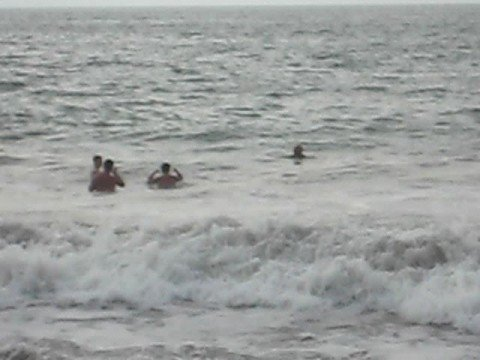 Gay men frolic in Hurricane Norbert waves in Puerto Vallarta Video