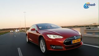 ANWB test Tesla Model S P90D 2016