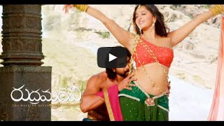 Rudramadevi - rana and anuska leak hot song