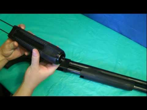 Mossberg 500 Combo - Forend/Forearm Assembly Swap