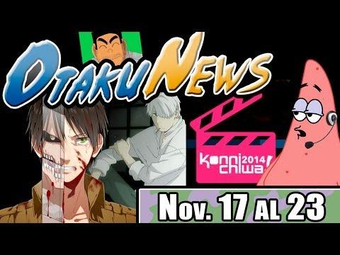OtakuNews   Shingeki no Kyojin, Mushishi, Konnichiwa Fest y mas!