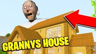 Minecraft : We Found GRANNYS *SECRET* HOUSE (Ps3/Xbox360/PS4/XboxOne/PE/MCPE)