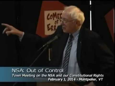 Bernie Sanders on the Exile of Edward Snowden