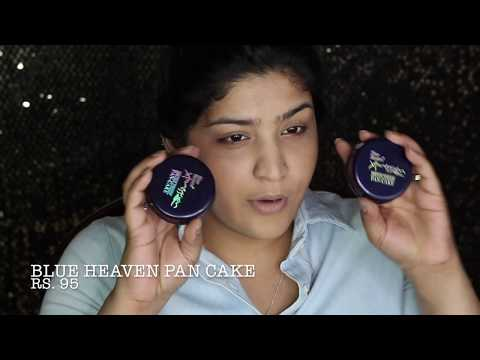 One Brand Tutorial   Blue Heaven   EVERYTHING UNDER RS. 200!   Mini Reviews