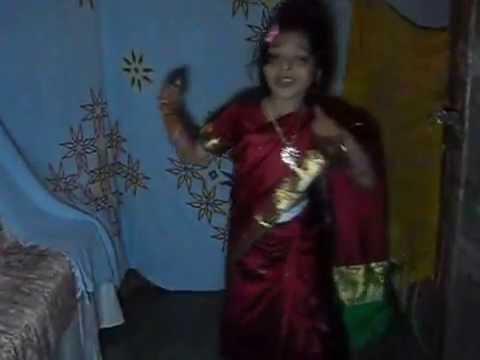 Ekadantaya Vakratundaya Song Dance By Cute Little Girl video