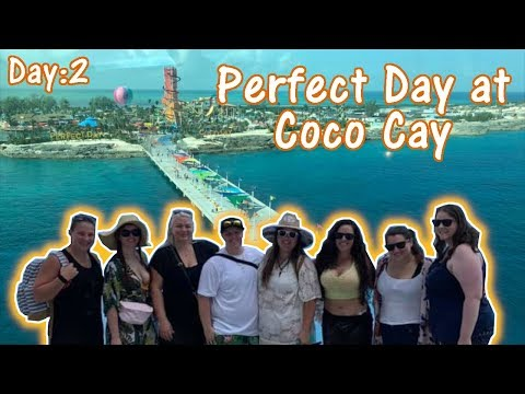 Perfect Day at Coco Cay with a Private Cabana| Day 2