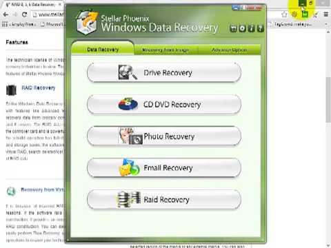 Remotely Recover Data Using Stellar Phoenix Windows Data Recovery Technician 6.0