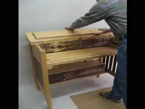 custom fly tying desk demo - YouTube