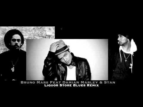 Bruno Mars Feat Damian Marley & Stan - Liquor Store Blues Remix