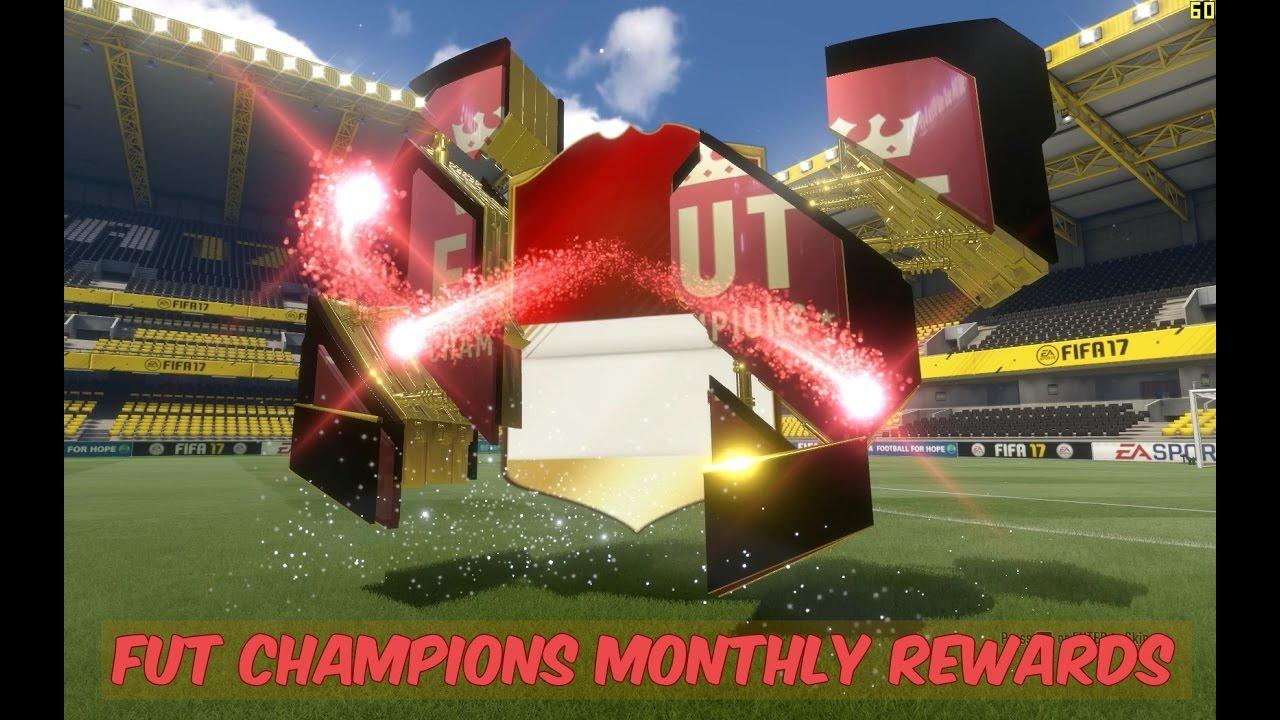 Monthly rewards fut champions