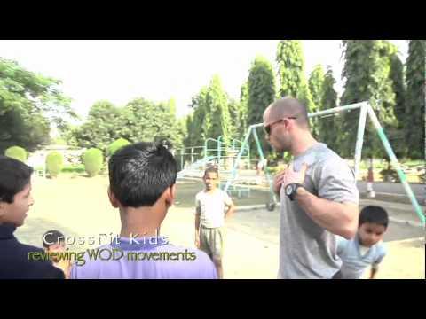 kids Class - Crossfit Chris Spealler Visits Crossfit Sri Ram Ashram In Haridwar, India Part 2 video