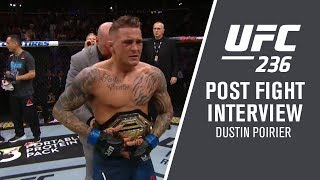 "UFC 236: Dustin Poirier - ""That Octagon is a Theater of the Unknown"""