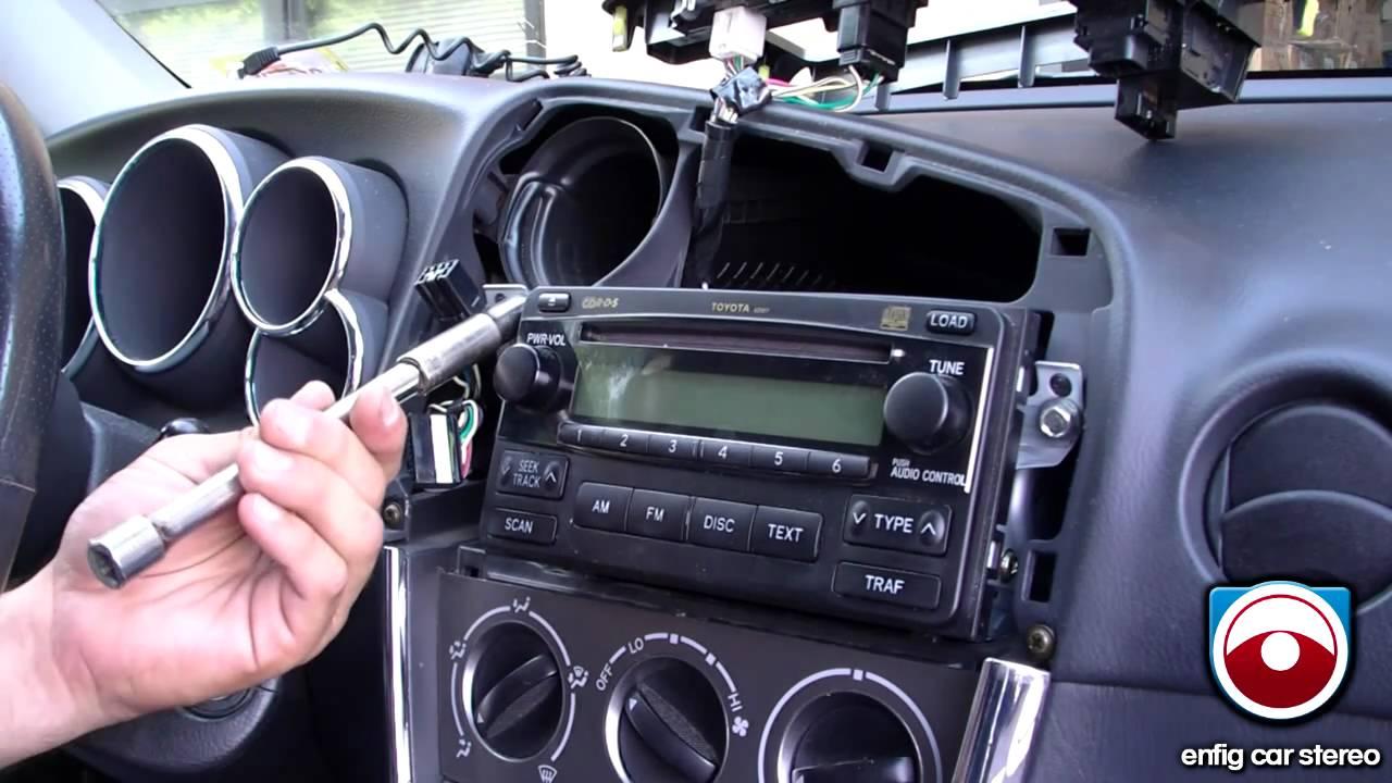 Ipod Iphone Or Aux Install 2005 2008 Toyota Matrix