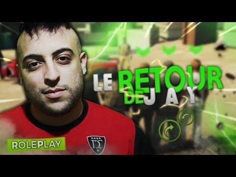 GTA V RP #14 - LE RETOUR DE JAY !?