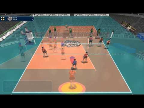 Thailand vs Brazil Women's Volleyball WGP 2014 pool G Bangkok