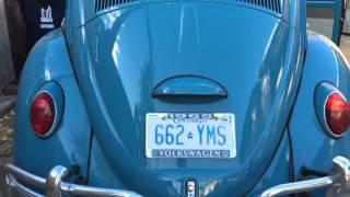 LED bulb vs. stock 1157 bulb VW Beetle FAIL