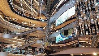 MSC Seaside - Атриумът
