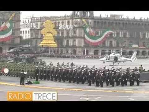 Desfile Militar 16 de Septiembre 2008