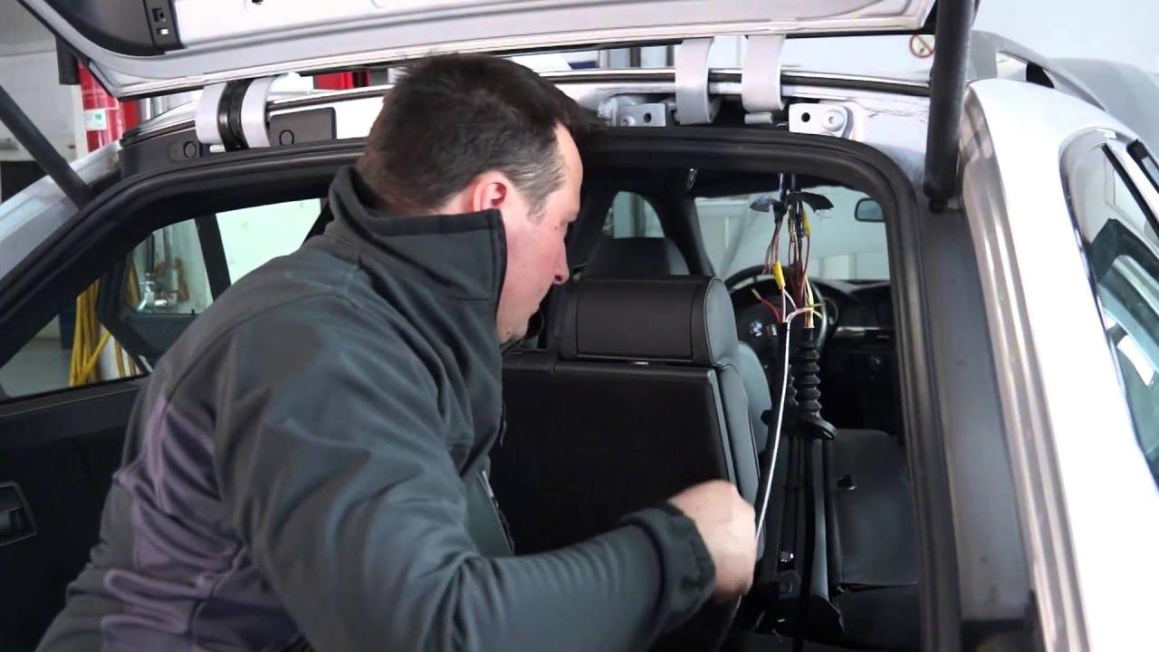 Bmw E39 Tuning >> Beispiel: Montage BMW E61 Touring - SenCom T.Q. - Rep.-Satz Kabelbaum Heckklappe - YouTube