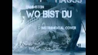 Wo Bist Du by Rammstein (Instrumental cover by HaGss) - 2010