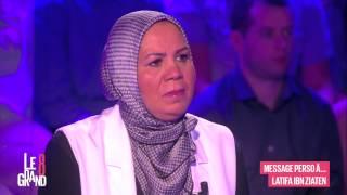Roselyne Bachelot au bord du larmes avec Latifa Ibn Ziaten dans Le Grand 8