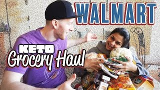 Keto Walmart Grocery Haul   $200 Monster Low Carb Haul   Meal Prep Shopping