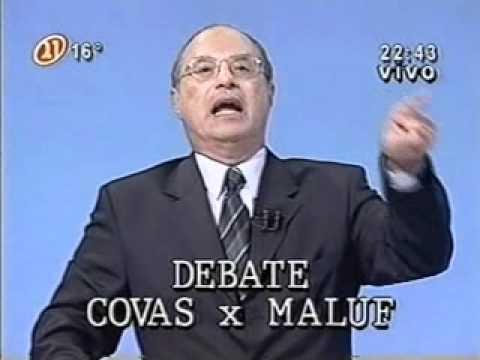 COVAS X MALUF - DEBATE DA TV BANDEIRANTES NO  DIA 18.10.98 - 2� TURNO DAS ELEI��ES (COMPLETO)